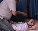 Sleeping Beauty -  10+ minutes of hot bondage struggle!