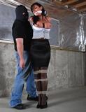 Christina Carter Held In The RopExpert Basement