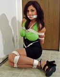 Lola Lynn Tight Ropes & Green Top