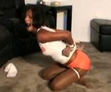 Drea, Hooters Girl, Please Untie Me!