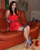 Sexy Red Dress Struggle