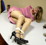 Mary Janes Pantyhose and Ropes