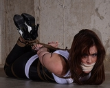 Hogtied Stare Down