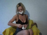 Kate Blonde's Self Bondage