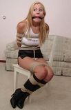 Autum Westin Dragged To Her Chair