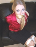 Soft Moans and Sexy Satin Blouse