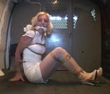 Sexy Nurse, MoRina, Gets a Ride To Work!