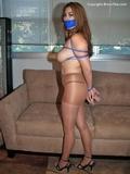 May Li Pantyhose Bondage Games