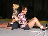 Satin Blouse Secretaries Bound Back to Back Struggle