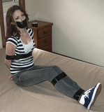 Taped Up In The Bedroom