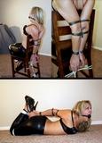 20 Minute Bondage Video - Hot Blonde in Cruel Bondage