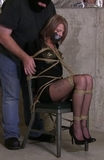 Bella Ink Chair Tied