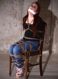 Fantasy Abduction Struggle. She paid to be abducted. He grabbed her when she was little suspecting, hauled her to a basement, tightly bound her to a chair and stuffed a knotted cleave gag into her mou