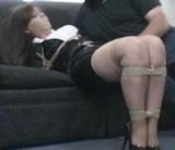 Elizabeth Andrews Paid Fantasy Abduction - High heels, ropes, tape gagged, secretary