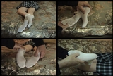 Fiona's Frilly White Ankle Socks - 02 (Large 640x480)