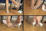 Fiona's Pink Strappy Mules - 01 (Large 640x480)