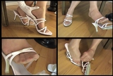 Fiona's Pink Strappy Mules - 02 (Small 320x240)