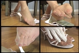 Fiona's Pink Strappy Mules - 03 (Large 640x480)