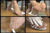 Fiona's Pink Strappy Mules - 03 (Small 320x240)