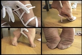 Fiona's Pink Strappy Mules - 04 (Large 640x480)
