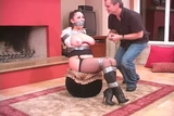 DWN-31 B - Dressed Up & Trussed Up Nice and Nude!