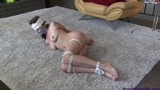 Chrissy Marie is a Bound and Gagged Housewife in Nude Escape Attempts 03