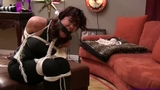 Sahrye is a Tightly Gagged, Bound, Dominated Dominatrix!