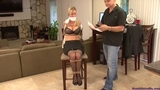 Amanda Kent Tied Up At The Office