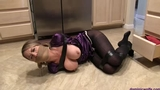 Chrissy Marie Trussed Up & Gagged in:  Road Rage Revenge!