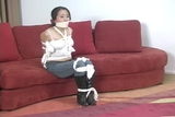 DW-43 F - Bound and Gagged Babysitters!