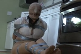 DW-45 D - Pantyhose Hooded and Fuming!