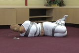 DW-45 E - Pantyhose Hooded and Fuming!