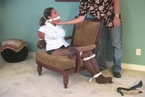 DW-47 B - Blackmailed into being Bound and Gagged!