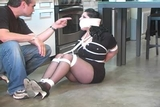 DW-47 D - Blackmailed into being Bound and Gagged!