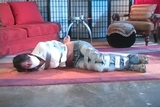 DW-47 E - Blackmailed into being Bound and Gagged!