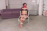 DW-48 B - Hot Babes Bound & Gagged in Bra & Panties