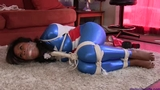 Taylor Summers Tightly Toe/Ball Tied & Sockgagged as: Captured America!