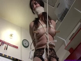 Arielle Lane 02 Groped Manhandled Bound in the Garage