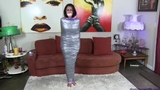 Sofia Bertolini is a Mummified, Sockgagged, Angry & Frustrated Babysitter!
