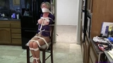 Amanda Kent--Blackmailed Into Being Bound & Gagged!!