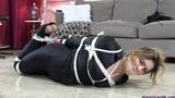 Cat Burglar Olivia Nicolette Caught, Hogtied, Gagged & Humiliated!  ***26 MINUTES LONG***