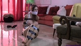 Lilian Stone Tightly Taped Up, Triple Gagged & Humiliated in: STALKED!
