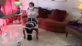 Mandy Slade Bound & Gagged in: Baby Sitter Trials and Tribulations!