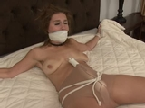 DWN-35 A  Bound & Gagged Forced Orgasms!