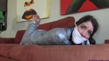 Arielle is a Mummified, Sockgagged & Frustrated Babysitter!
