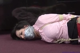 DW-56E Melissa Lynn's TIGHT HOGTIE Gagtalking Frustrated Fight!