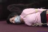DW-56E Melissa Lynn's TIGHT HOGTIE Gagtalking Frustrated Fight!