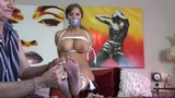 Lucy Purr gets Blackmailed into being Tightly Bound & Sock Gagged******30 MINUTES LONG*******