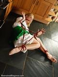 RE1296: #GameOfSlaves: Ariel captured in the kitchen
