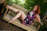 RE1629: Vivian Ireene Pierce Handcuffed in the Park